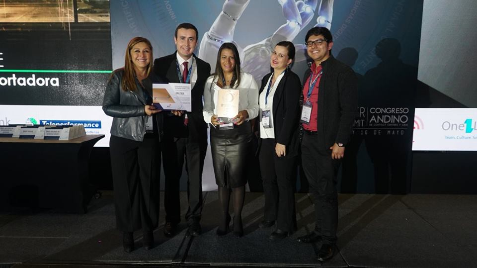 Callzilla Receives Bronze Award from the Colombian Association of Contact Centers and BPO's